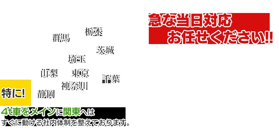 独自のネットワークにより日本全国どこにでも配送いたします!
